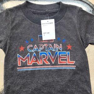 New toddler Captain Marvel toddler T-shirt